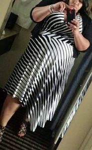Lane Bryant Asymmetrical hem Dress
